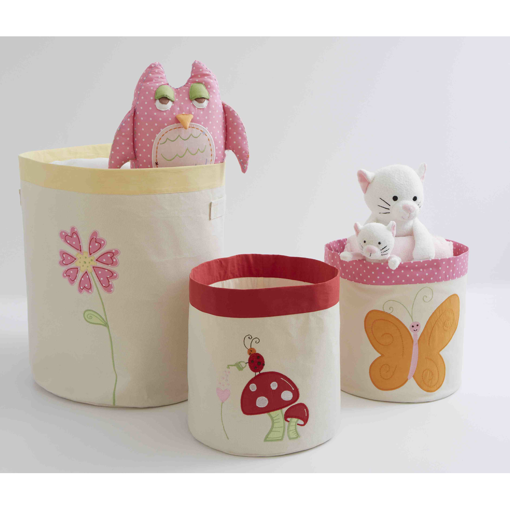 Small Butterfly Storage bin 1
